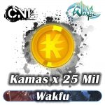 Wakfu Kamas x25 Mil